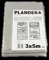 Тент Брезент Пландека Тарпаулин защитный (110g\m2) 3x5  Польша (Wimar)