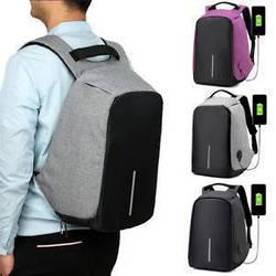 Рюкзак Bobby Бобби с защитой от карманников антивор USB разъем ave