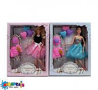 Лялька 555B шарнірна, фотоапарат, кульки, 2 види (капелюх, сумочка), кор., 26,5-33-5,5 см.