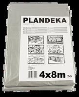 Тент Брезент Пландека Тарпаулин защитный (110g\m2) 4x8 Польша (Wimar)