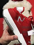 🔥 РЕФЛЕКТИВ 🔥 Кроссовки Nite Jogger Red White Найк Джоггер Красный🔥 Найк мужские кроссовки 🔥, фото 5