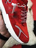 🔥 РЕФЛЕКТИВ 🔥 Кроссовки Nite Jogger Red White Найк Джоггер Красный🔥 Найк мужские кроссовки 🔥, фото 9