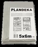 Тент Брезент Пландека Тарпаулин защитный (110g\m2) 5x6 Польша (Wimar)
