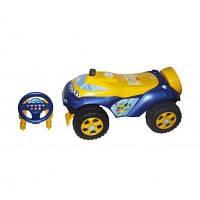 """Машинка для катання """"Автошка"""" 0142/04UA синьо-жовта"""