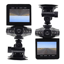 Автомобильный видеорегистратор DVR-027 HD (H-198) 1280x720 регистратор Черный ave