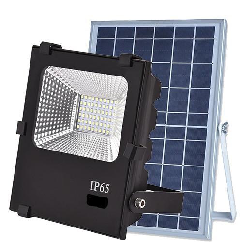 Уличный прожектор на солнечных батареях VARGO 40W 6500К с пультом