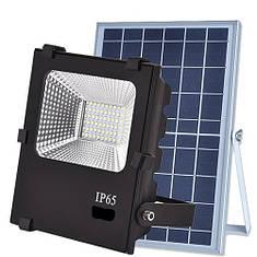 Вуличний прожектор на сонячних батареях VARGO 40W 6500К з пультом, фото 2