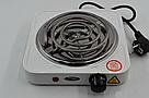 Электроплита 1 комфорка, спиральная, WimpeX WX-100B-HP, мощная плита ave, фото 3