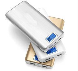 PowerBank Xlaomi Mi Powerbank 2 USB + Экран 28800mAh| ПоверБанк Пауэр с экраном ave