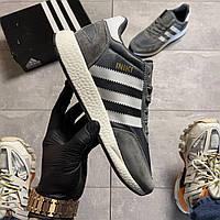 🔥  Кроссовки Adidas Iniki Grey Адидас Иники Серый 🔥 Адидас мужские кроссовки 🔥