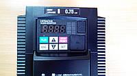 Частотный регулятор HITACHI WJ200-007SF, 0.75/1.1кВт, 5.0/6.0A, 220В. Векторный. Mini-USB, PLC.