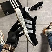 🔥 ВИДЕО ОБЗОР 🔥 Кроссовки Adidas Iniki Black White Адидас Иники 🔥 Адидас мужские кроссовки 🔥