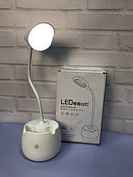 Портативная Компактная Яркая без проводная настольная Лампа с сенсорным управлением. Лучшая Цена! ave