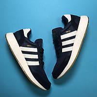 🔥 Кроссовки Adidas Iniki Blue White Адидас Иники Синий 🔥 Адидас мужские кроссовки 🔥