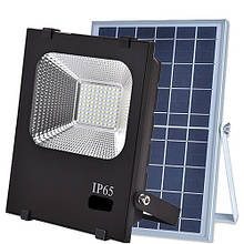Автономный уличный прожектор на солнечных панелях VARGO 60W 6500К с пультом