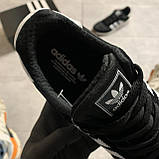 🔥 ВИДЕО ОБЗОР 🔥 Кроссовки Adidas Iniki Black White Адидас Иники 🔥 Адидас женские кроссовки 🔥, фото 4