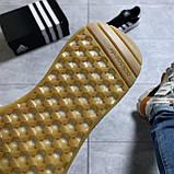 🔥 ВИДЕО ОБЗОР 🔥 Кроссовки Adidas Iniki Black White Адидас Иники 🔥 Адидас женские кроссовки 🔥, фото 7