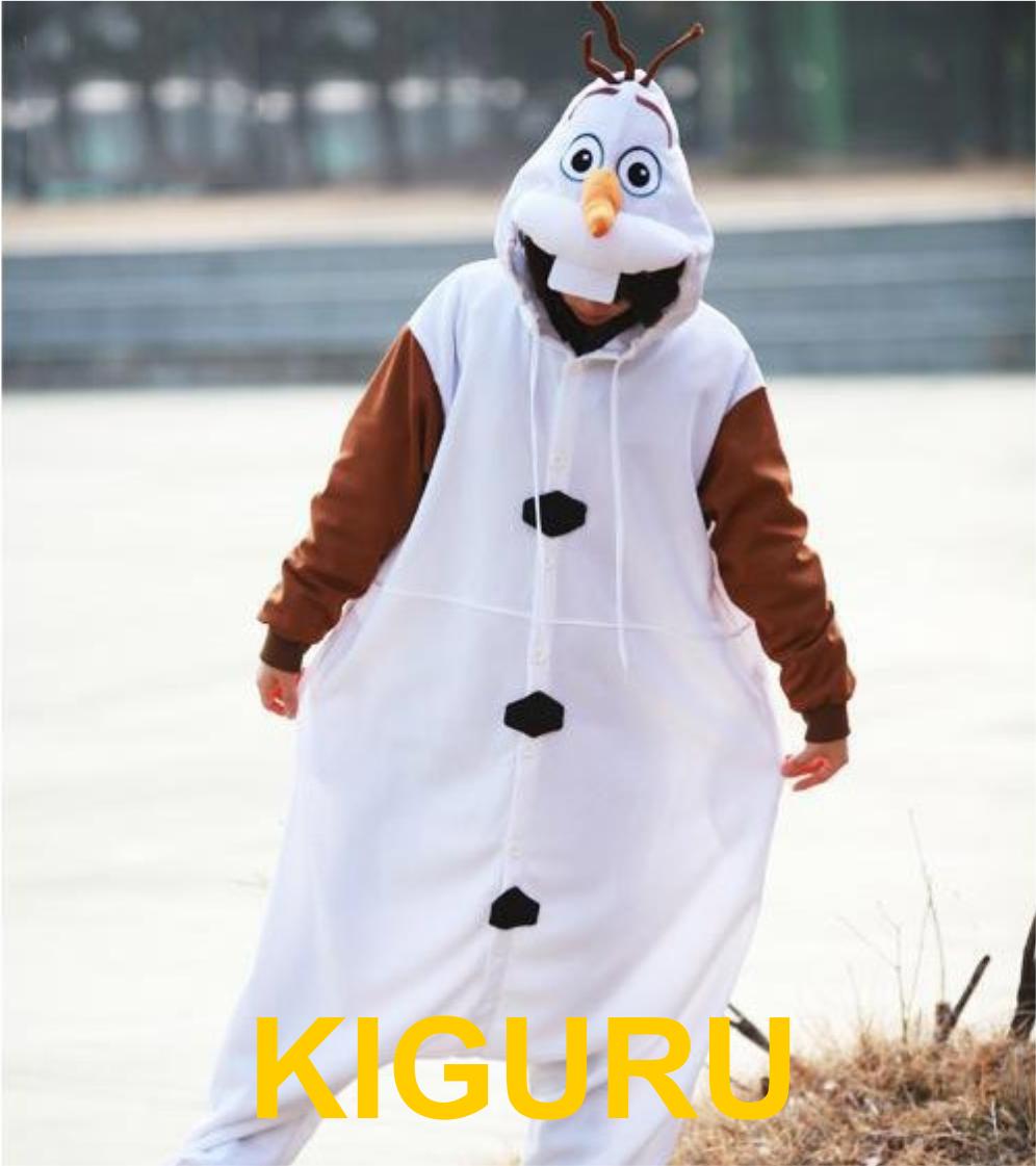 Пижама кигуруми снеговик Олаф