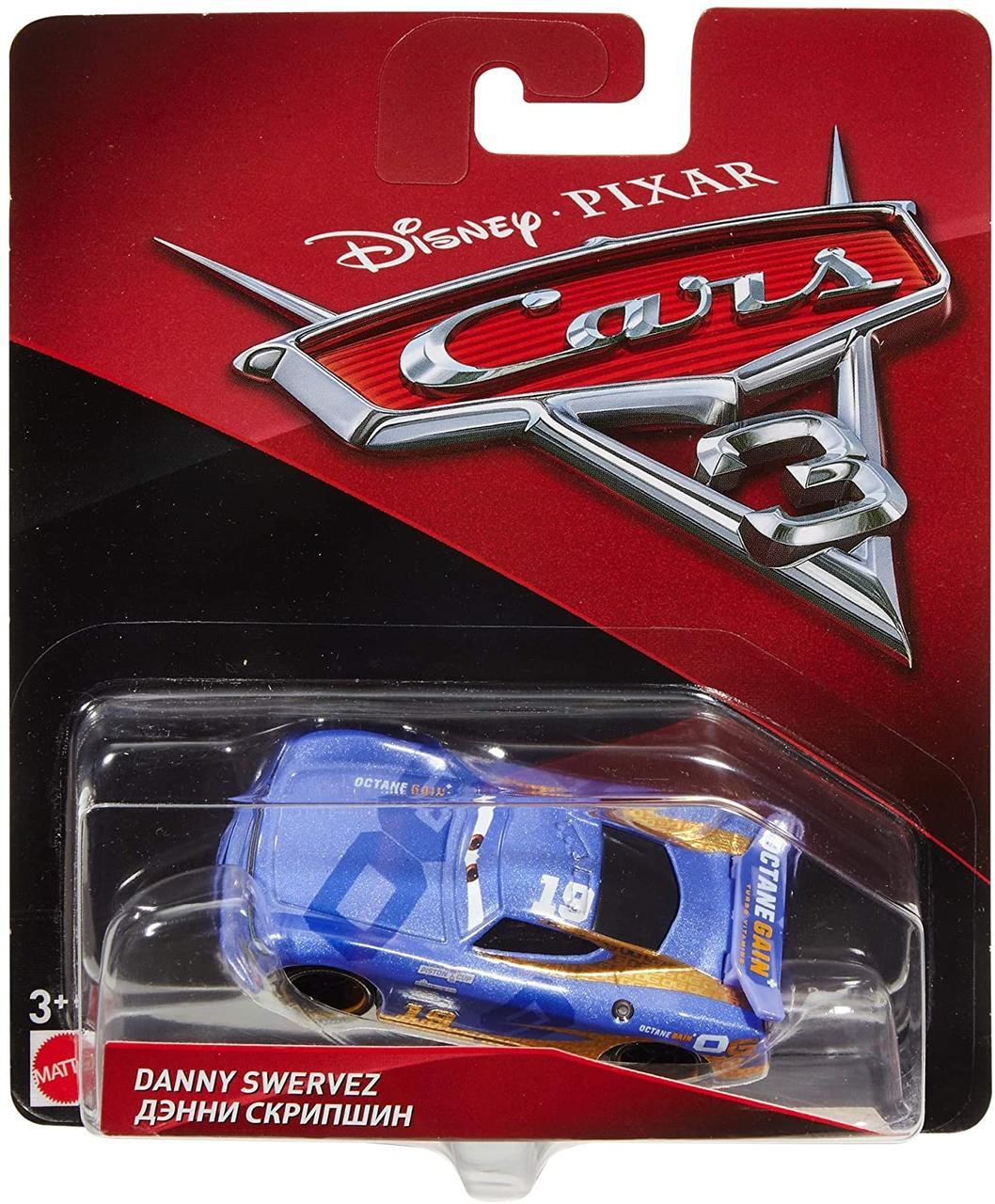 Тачки 3: Денні Скрипшин (Daniel Swervez) Disney Pixar Cars від Mattel