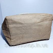 Пляжная сумка чёрная полоса опт, фото 3
