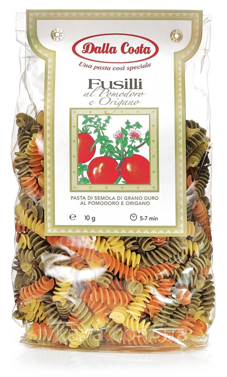 Макаронные изделия Fusilli al Pomodoro e Origano  Dalla Costa, 250 гр