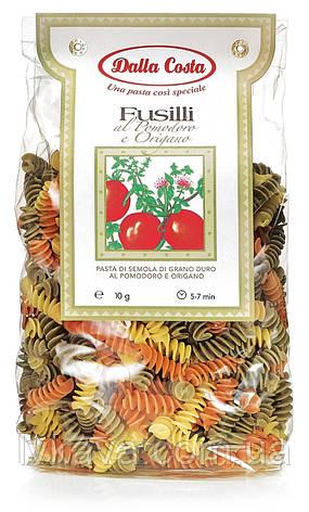 Макаронные изделия Fusilli al Pomodoro e Origano  Dalla Costa, 250 гр, фото 2