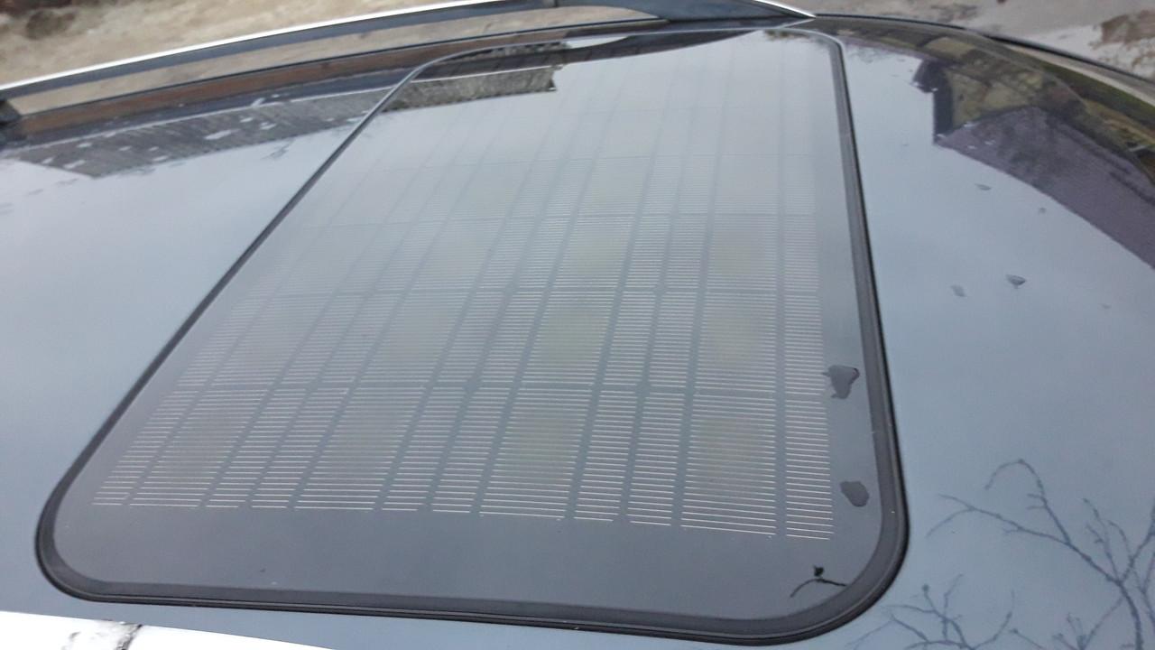 Люк Solar  в сборе с солнечной батареей пассат б5 рестайлинг passat b5 + FL Lift
