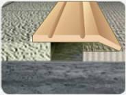 Латунный порожек В014 28мм 0.9 м