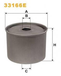 Фильтр топливный WIX 33166E