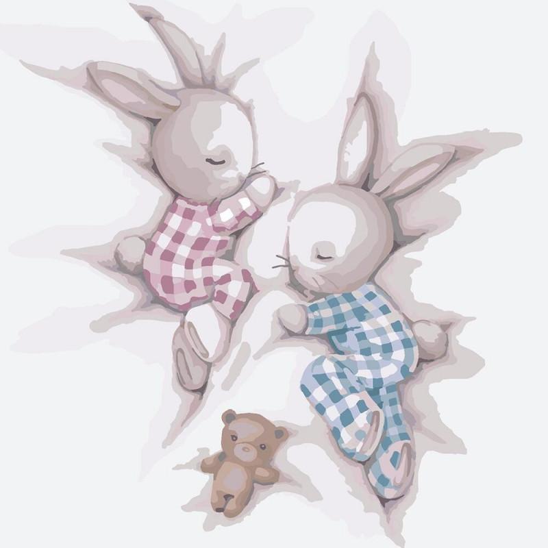 Картина по номерам Идейка - Сладкие сны 2 30x30 см (КНО2335)