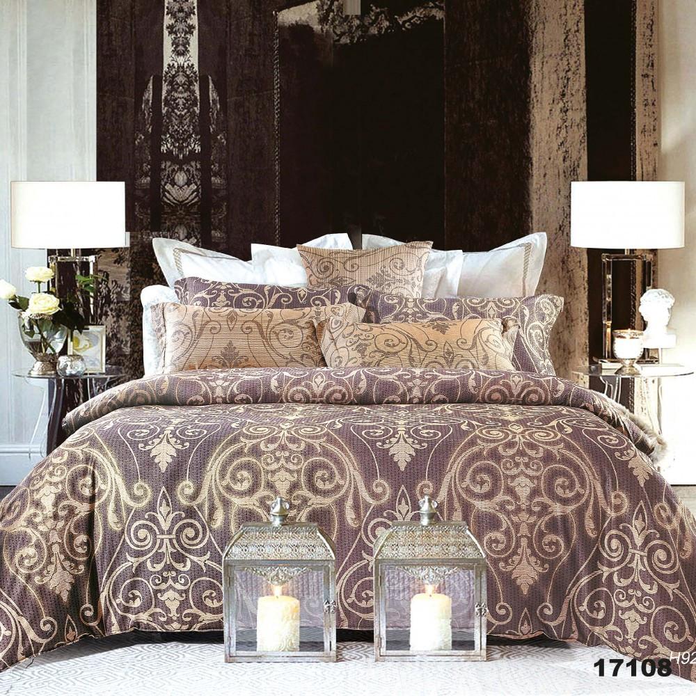 Двуспальный Комплект постельного белья Viluta Ранфорс 17108