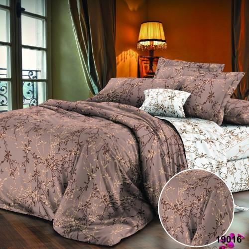 Двуспальный Комплект постельного белья Viluta Ранфорс 19016