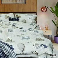 Двуспальный Комплект постельного белья Viluta Ранфорс 19025
