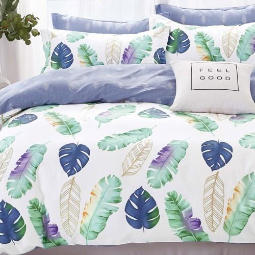 Двуспальный Комплект постельного белья Viluta Ранфорс 19026