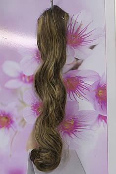 Волосся штучні на заколках термоволокно русявий із золотистим меліруванням