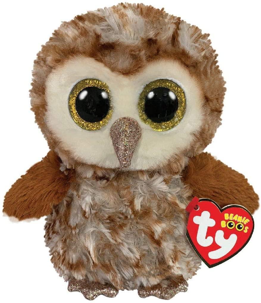 Мягкая игрушка Коричневая сова Перси 24 см. Оригинал TY Inc. 36462