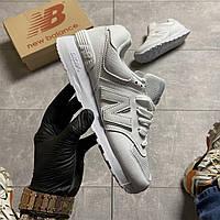 🔥 ВИДЕО ОБЗОР 🔥 Кроссовки New Balance 574 White Leather 🔥 Нью Бэланс 🔥 Нью Беленс женские кроссовки🔥
