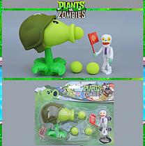 Іграшка Рослини проти зомбі Кулеметник Фірмова упаковка Plants vs zombies