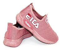 Кроссовки для девочки розовые, кроссовки с неоновой сеткой, фото 1