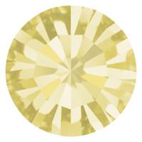 Пришивные стразы в цапах Preciosa (Чехия) ss16 Jonquil/серебро