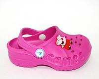 Кроксы силиконовые для девочек, фото 1