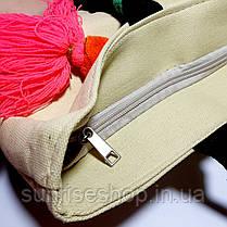 Пляжная сумка текстильная опт, фото 2