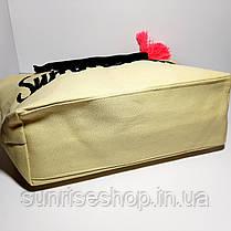 Пляжная сумка текстильная опт, фото 3