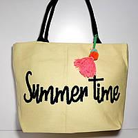 Пляжная сумка текстильная опт и розница