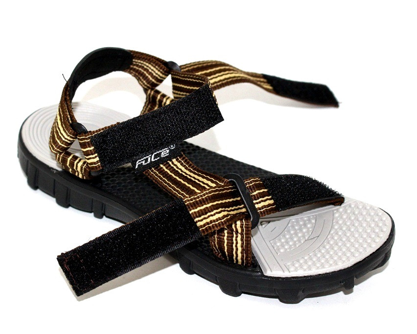 Легкие сандалии для мальчика с текстильным верхом