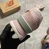 🔥 Кроссовки New Balance 574 Pink Suede Розовый 🔥 Нью Бэланс 🔥 Нью Беленс женские кроссовки🔥, фото 7