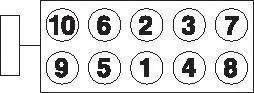 Комплект болтов головки цилидра Goetze 2215001B