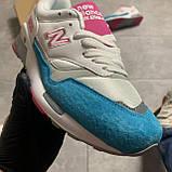 🔥 Кроссовки New Balance 1500 White Blue Голубой Белый Розовый 🔥 Нью Бэланс 🔥 Нью Беленс женские кроссовки🔥, фото 3