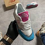 🔥 Кроссовки New Balance 1500 White Blue Голубой Белый Розовый 🔥 Нью Бэланс 🔥 Нью Беленс женские кроссовки🔥, фото 2