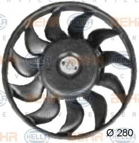 Вентилятор радиатора Hella 8EW351034791